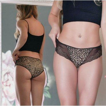 Женские трусы Леопард