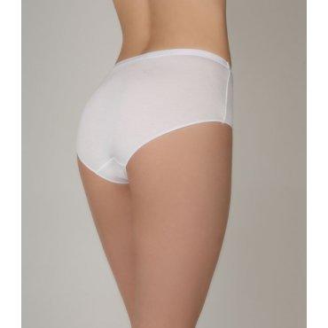 Женские трусы Maxi Slip - бамбук- белые