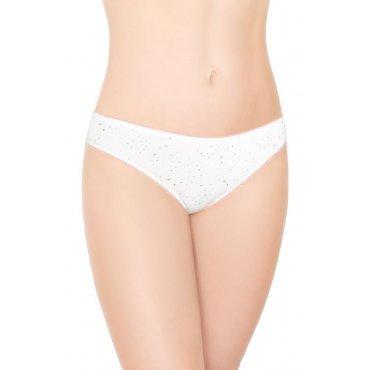 Женские трусы Mini Slip - белые принт